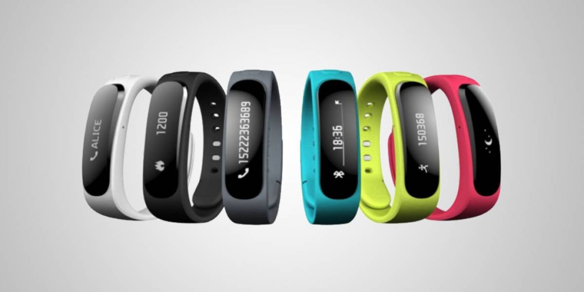 Huawei presenta su primer medidor de actividad TalkBand B1 #MWC2014