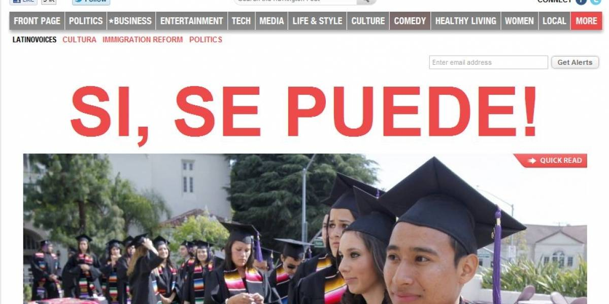 Huffington Post lanza sección de noticias para hispanoamericanos
