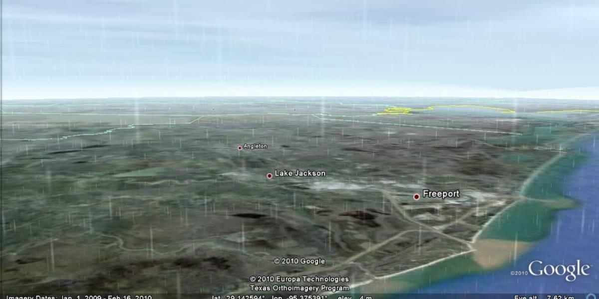 Google añade datos climáticos a Google Earth