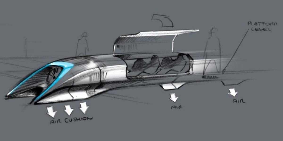 Así es Hyperloop, el tren que uniría San Francisco y Los Angeles en media hora