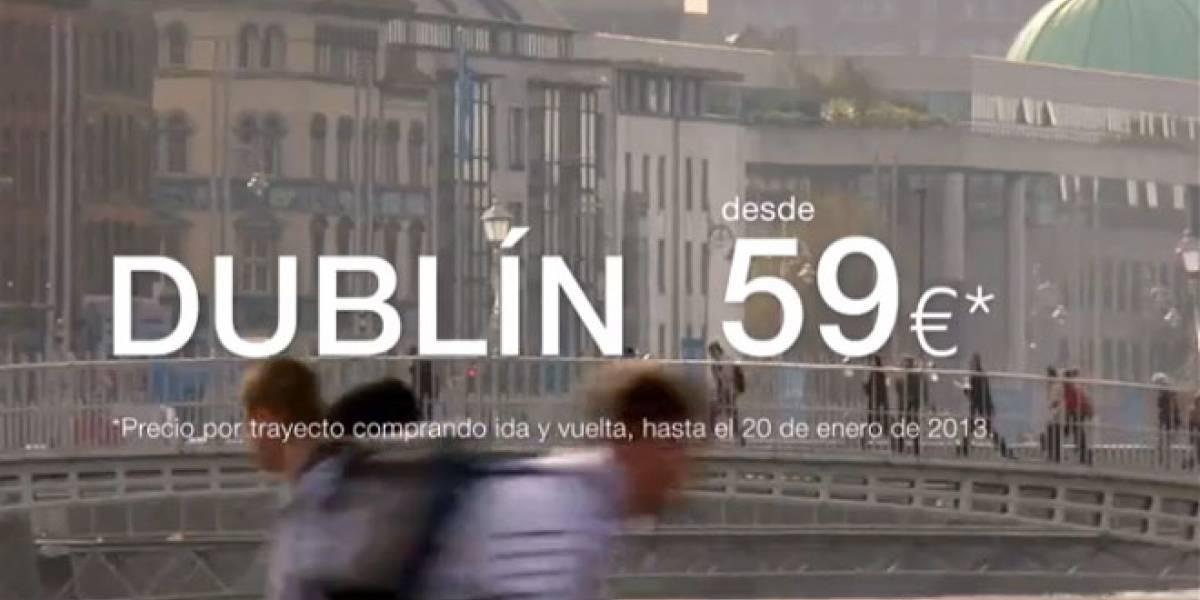 España: Descubre Dublín por solo 59€ con Iberia Express