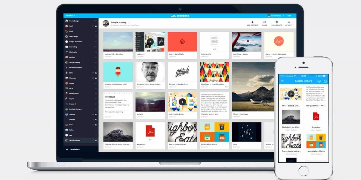 Pinterest adquiere la española Icebergs