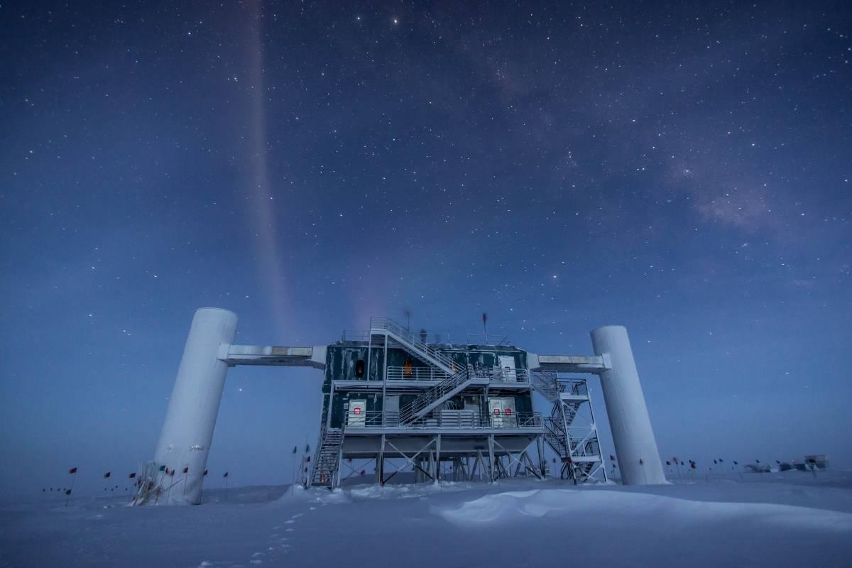 Astrónomos en la Antártica captan los neutrinos más energéticos que se hayan visto