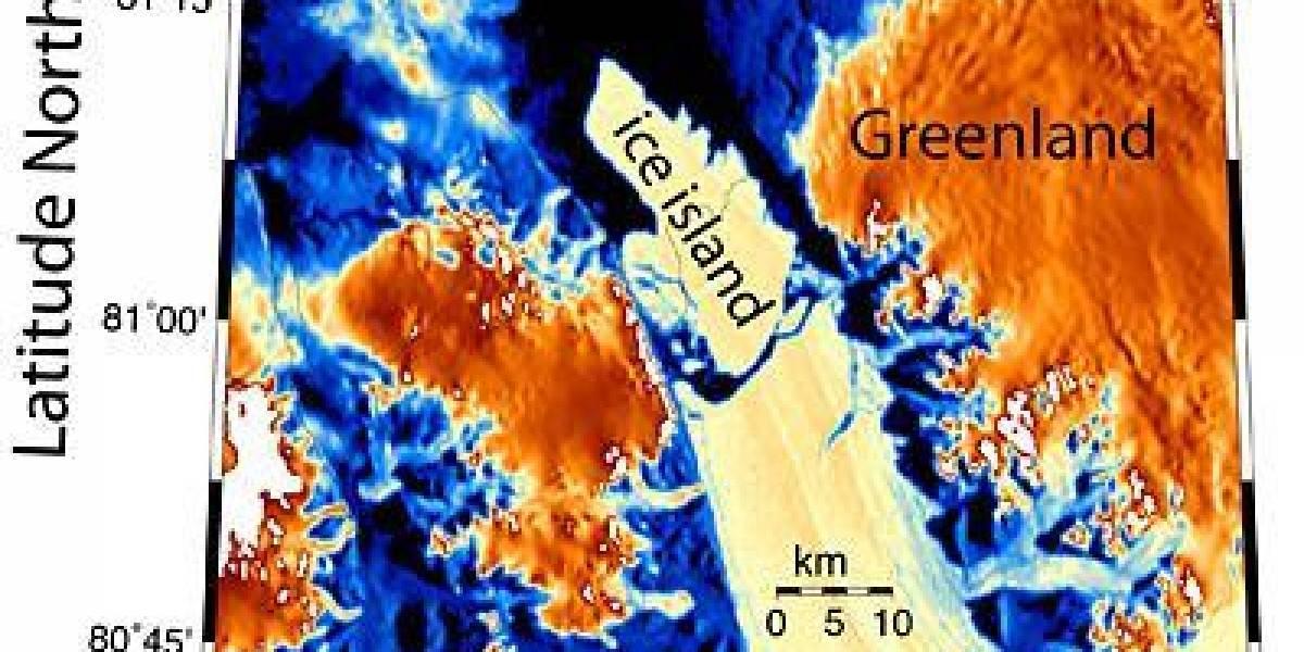 Se desprende Iceberg 4 veces más grande que Manhattan en Groenlandia