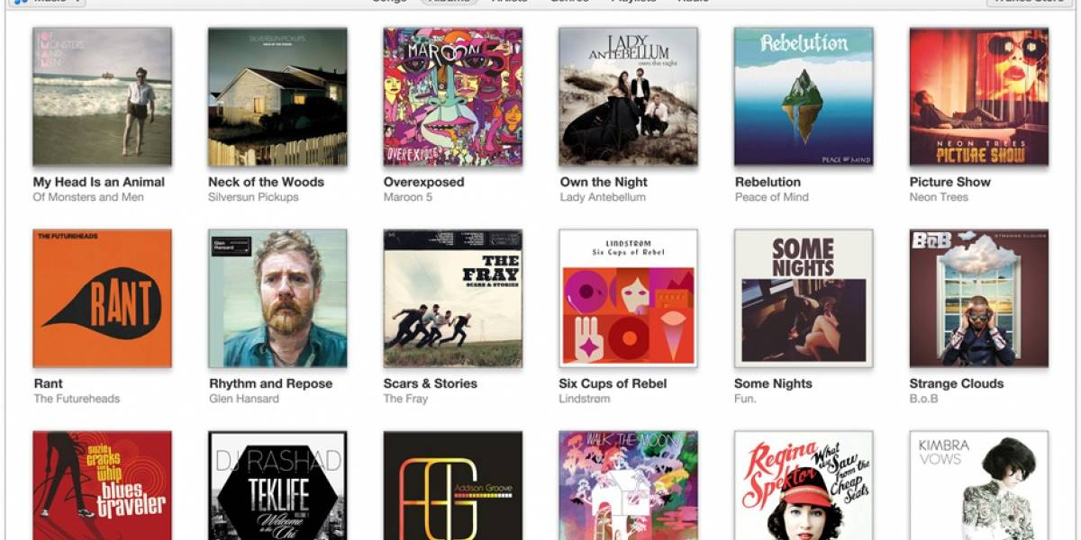 iTunes 11 ya está disponible, trae nueva interfaz
