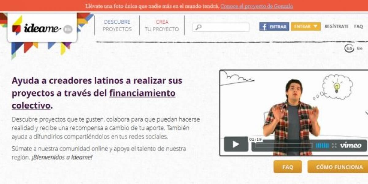 Chile: hoy se lanza Idea.me, plataforma de crowdfunding