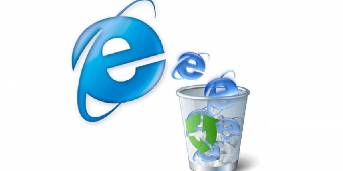 Internet Explorer 6 llegó a menos del 1% de participación en México y Estados Unidos