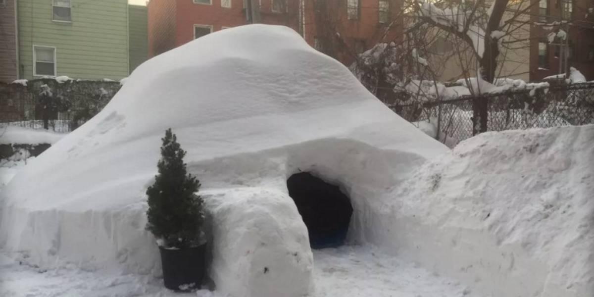 Airbnb borra aviso que permitía pasar la noche en un iglú en Nueva York
