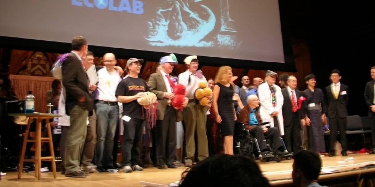 Sexo de escarabajos con botellas de cerveza deslumbró en los premios Ig Nobel