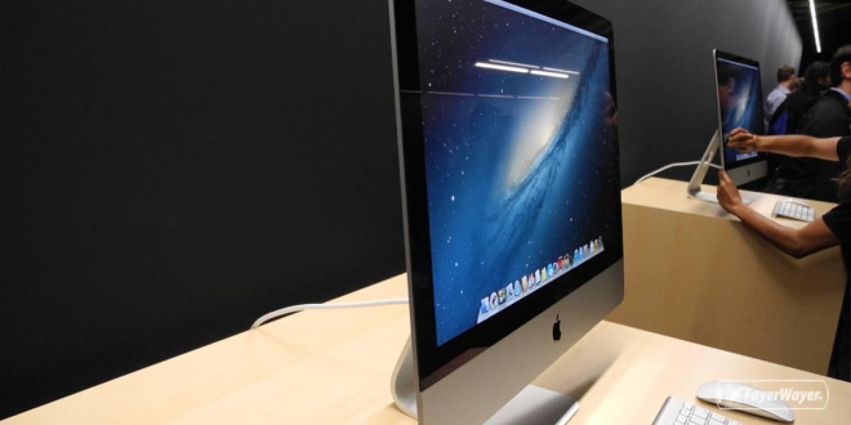 Computadoras Apple y Lenovo son las únicas que se resisten a la caída de los PCs