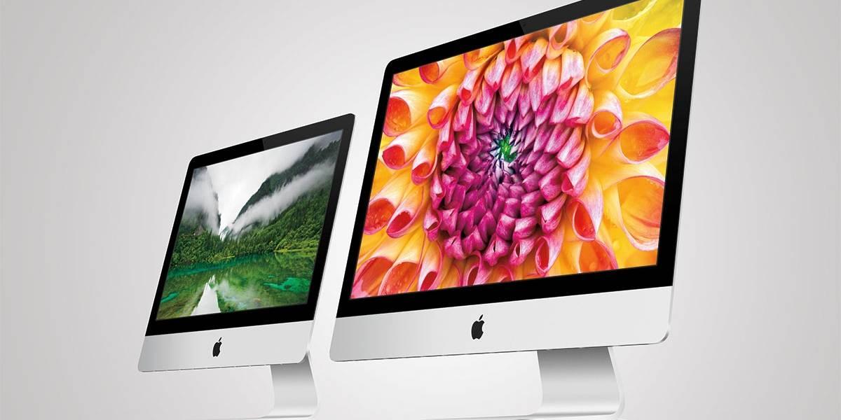 """iMac actualizados con nuevos procesadores y Wi-Fi """"ac"""""""