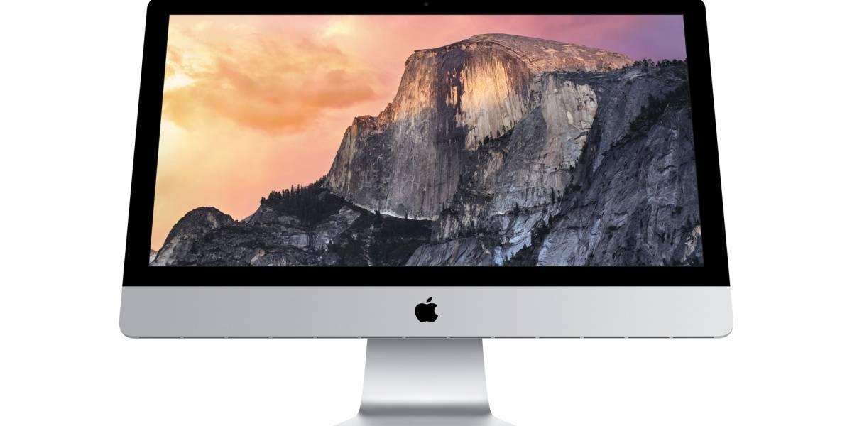 iMac con pantalla Retina 5K deslumbra en el keynote de Apple