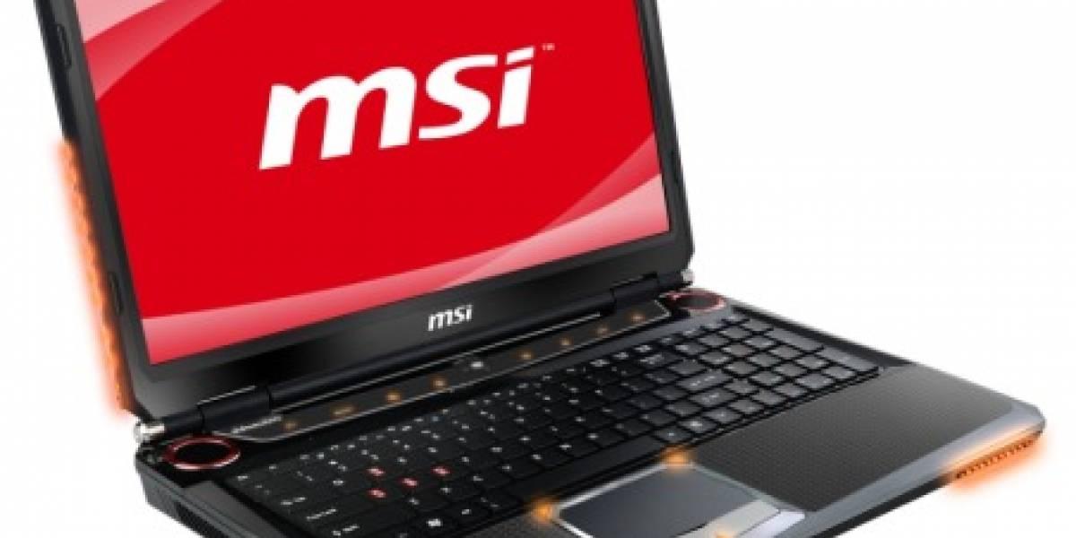 CTX2011: MSI GT683R, la primera laptop de juegos con el nuevo GPU NVIDIA GTX 560M