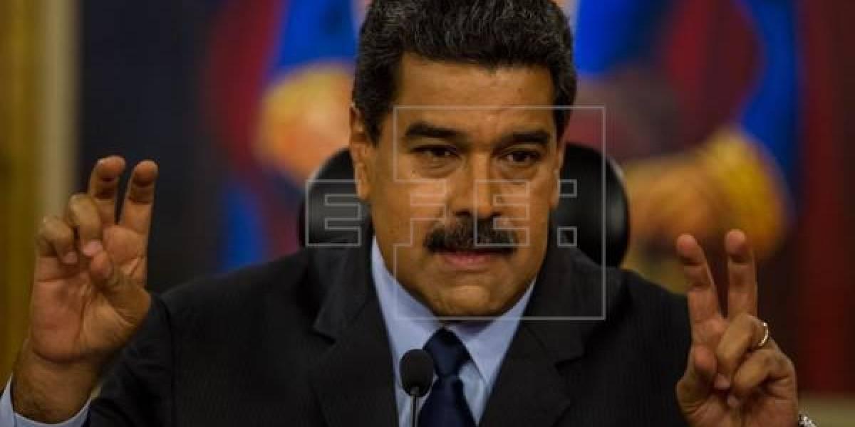 """Maduro """"a la orden"""" de candidatura presidencial si así lo decide su partido"""
