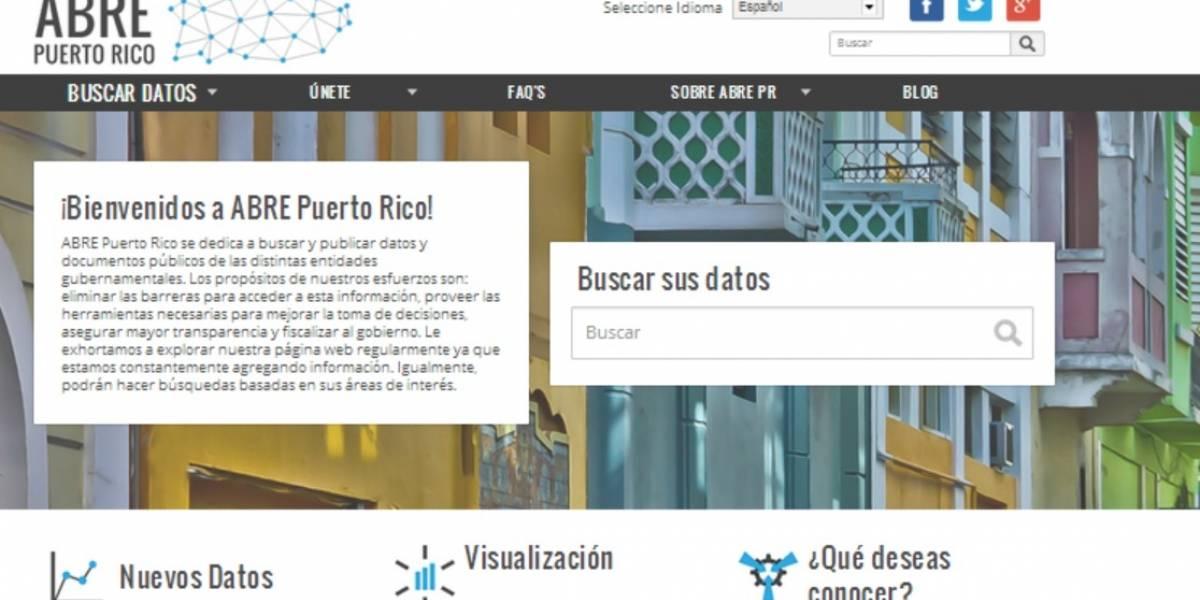 Lanzan portal para transparentar la información pública de Puerto Rico