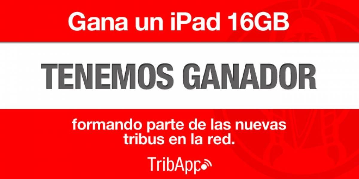 España: ¡Habemus ganador del iPad de TribApp!