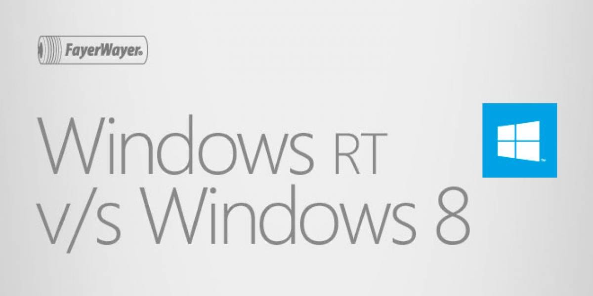 Windows RT vs Windows 8