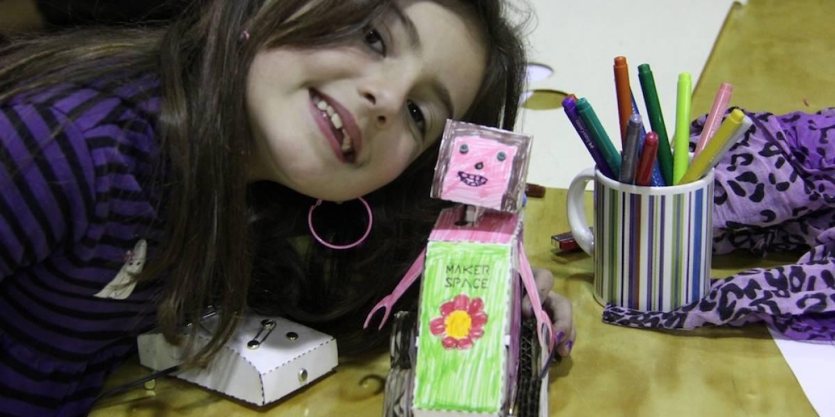 """Este sábado comienza taller """"Mi Primer Robot"""" en Santiago MakerSpace"""