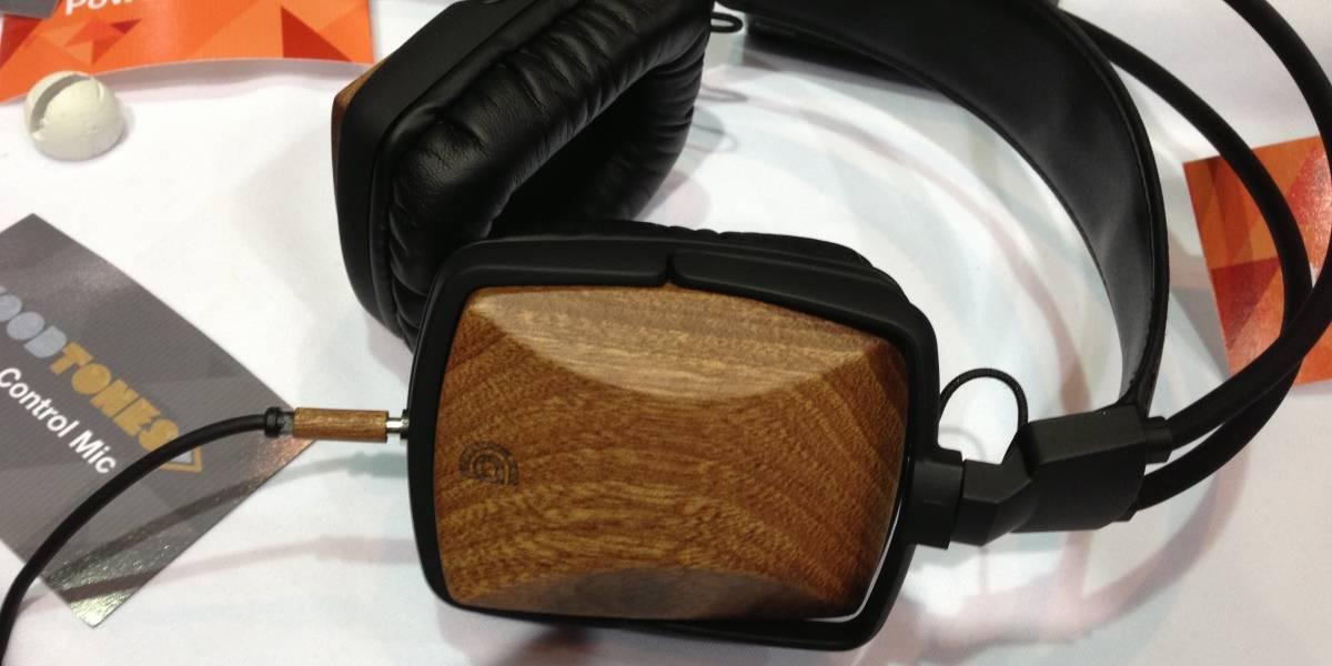 CES 2013: Los audífonos de madera de Griffin con micrófono incorporado