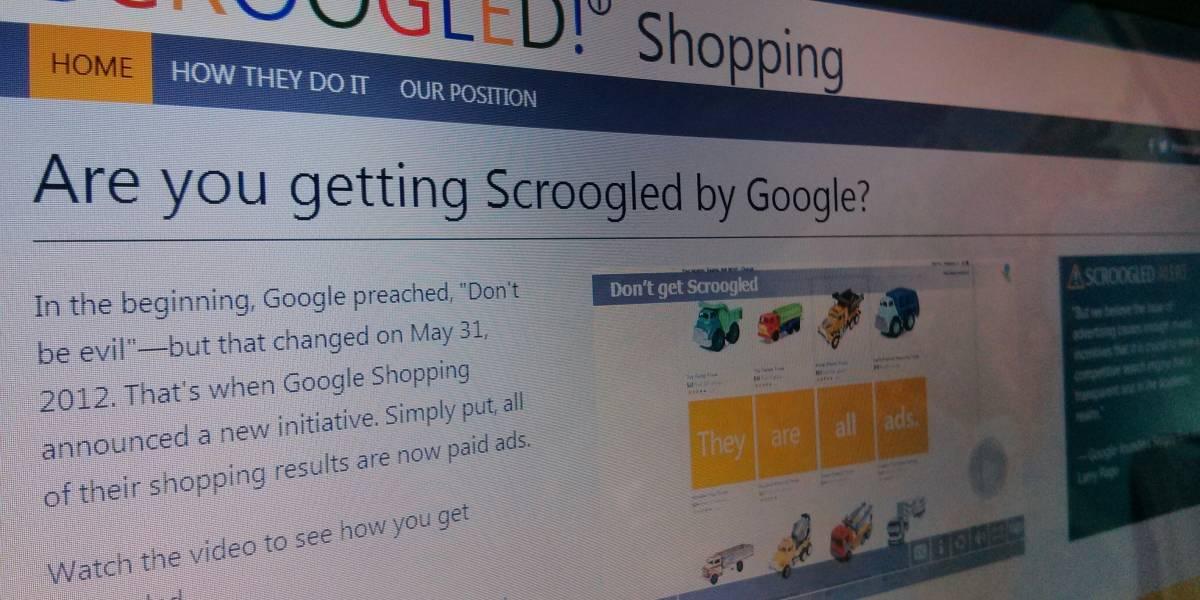 Aseguran que campaña publicitaria 'Scroogled' de Microsoft efectivamente funciona
