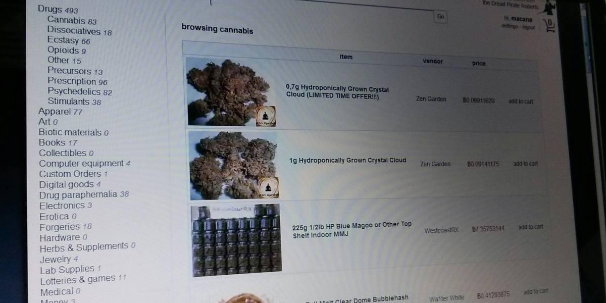 Volvió Silk Road, el lugar favorito de quienes desean comprar drogas por Internet
