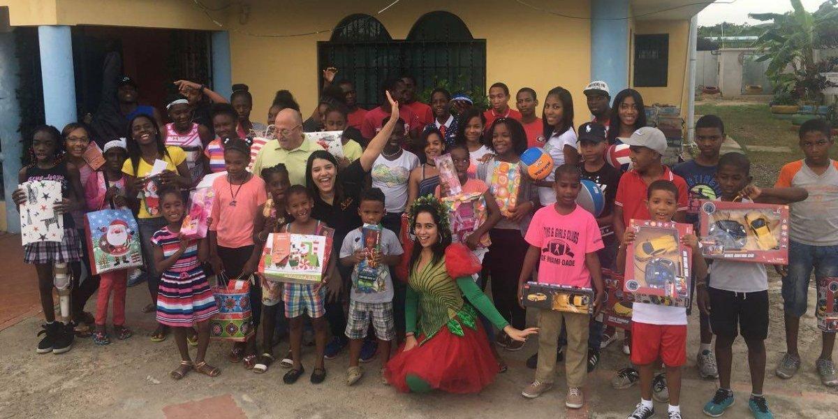 #TeVimosEn: Ágora Mall regala sonrisas a adolescentes y envejecientes de nueve fundaciones