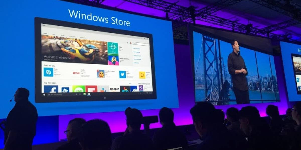 Windows 10 presenta su renovada Windows Store #Build2015