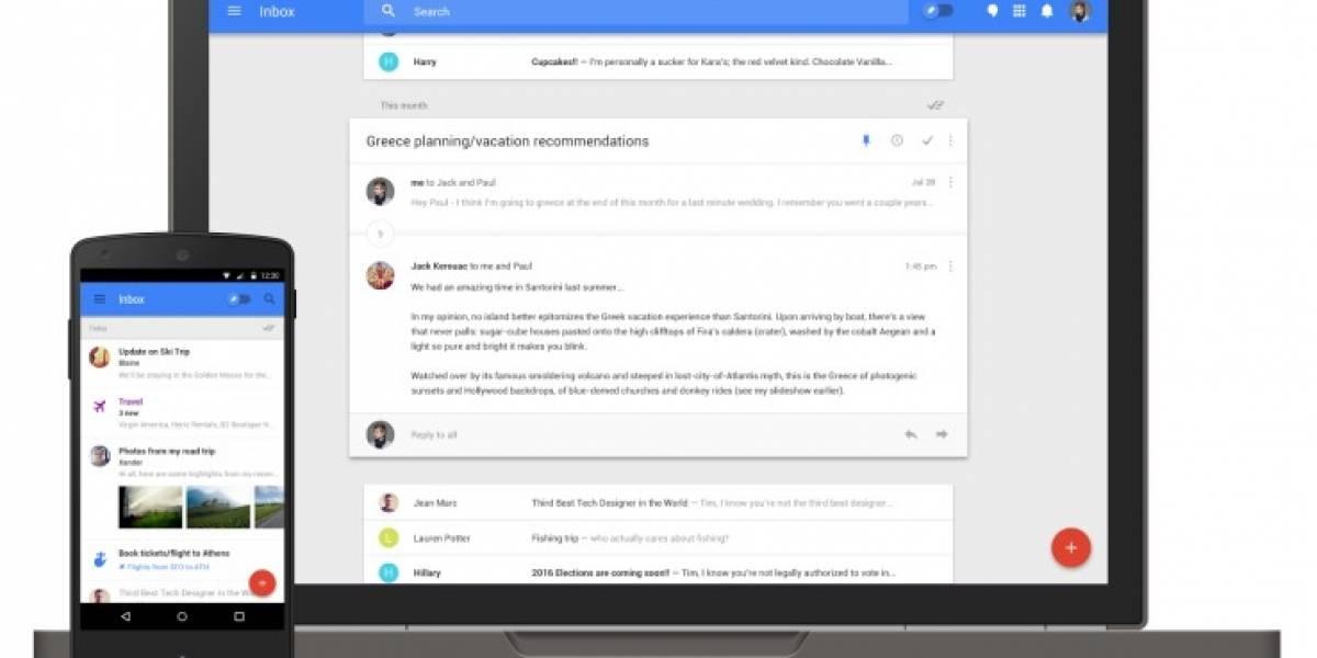 Google ofrece invitaciones a Inbox por 24 horas