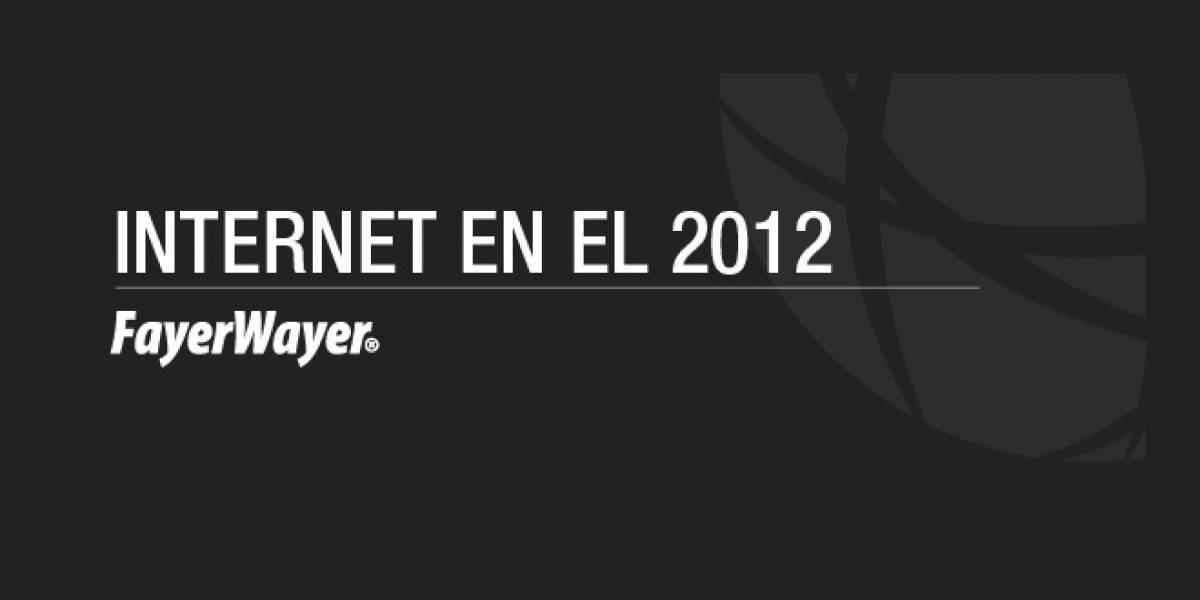 Infografía: Internet en el 2012 en cifras