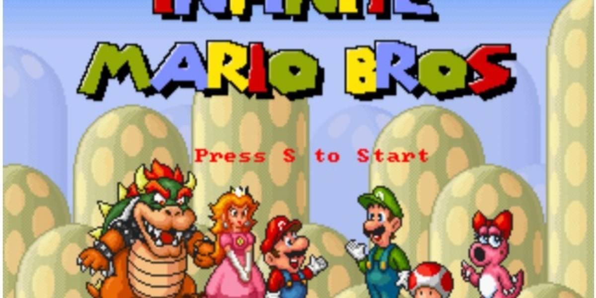 Ya puedes jugar Mario Bros gracias a HTML5