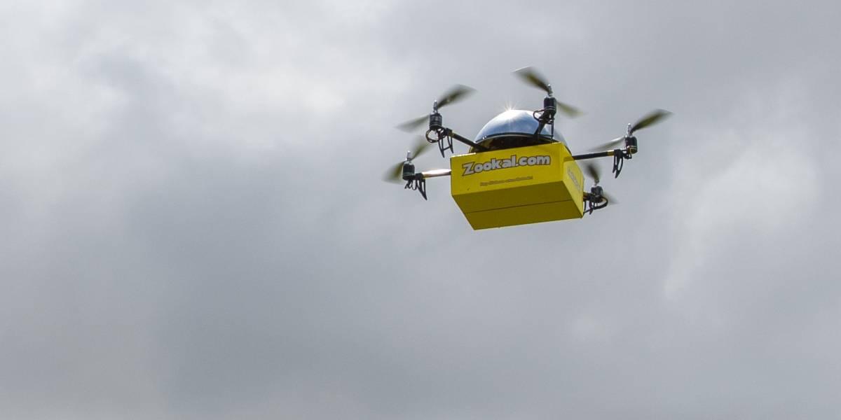 Empresa australiana comenzará a usar drones para repartir libros académicos