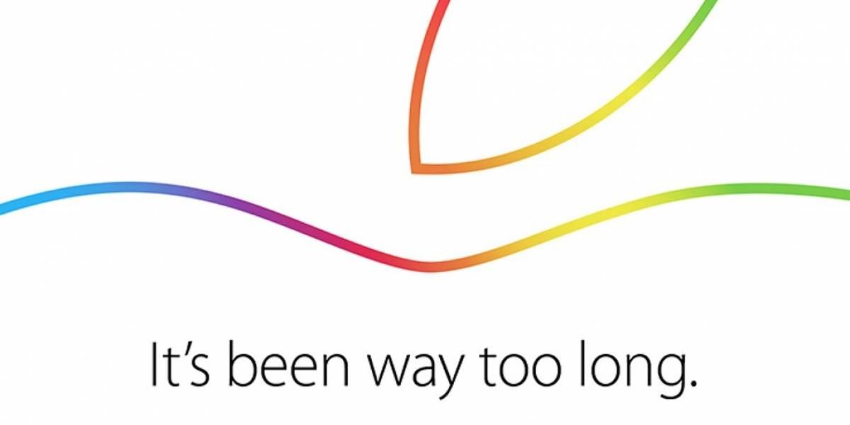 Apple confirma evento el 16 de octubre
