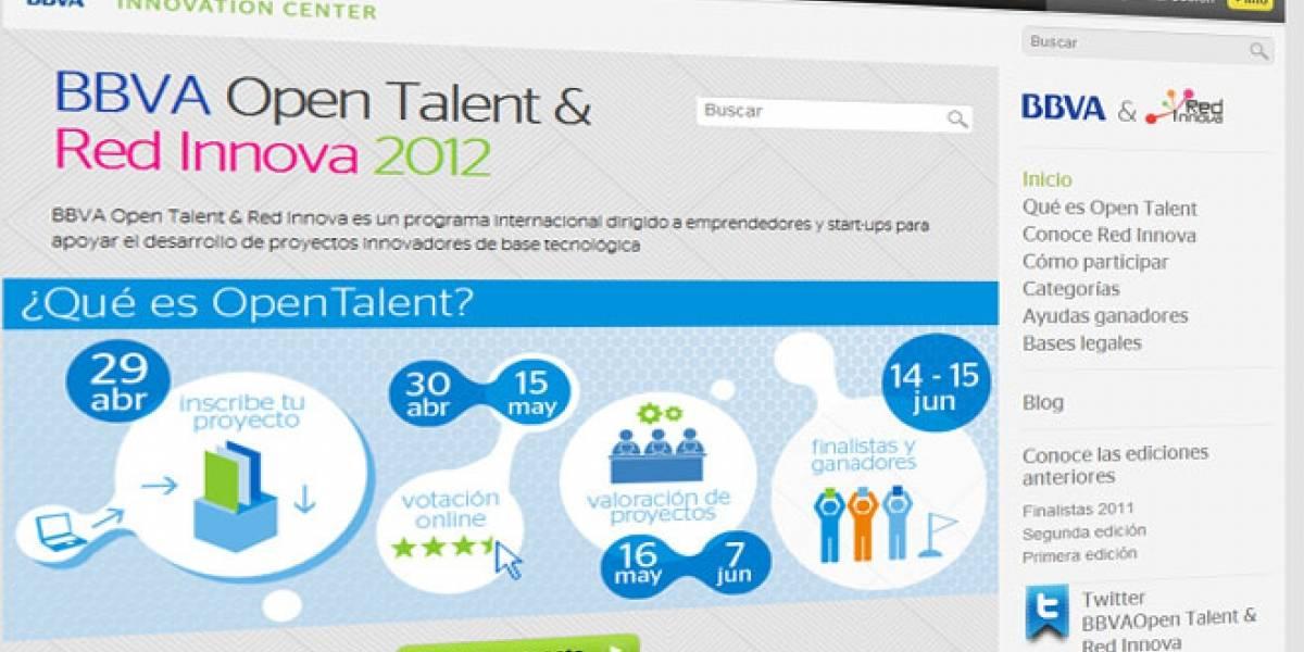 Innova Open Talent 2012 busca emprendedores en España y Latinoamérica