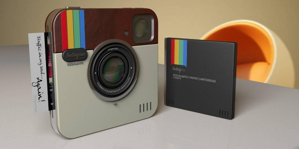 Instagram se desvirtualiza y podría tener su propia cámara de fotos