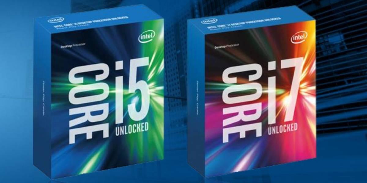 Intel presenta sus nuevos procesadores de sexta generación