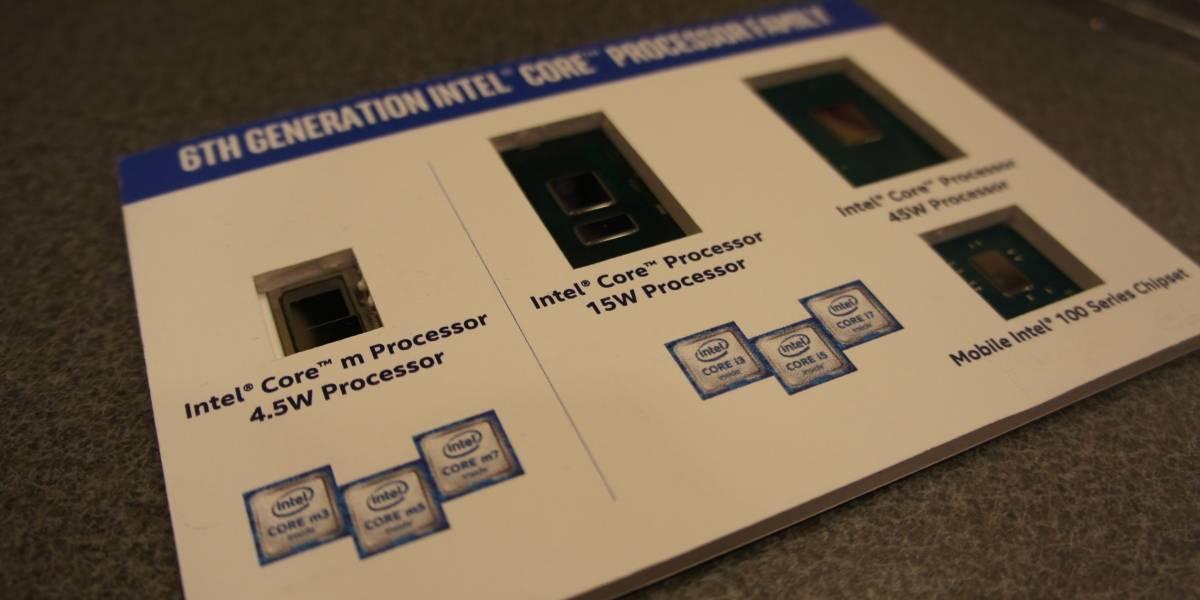 Intel y la apuesta por la eficiencia en sus nuevos procesadores de sexta generación