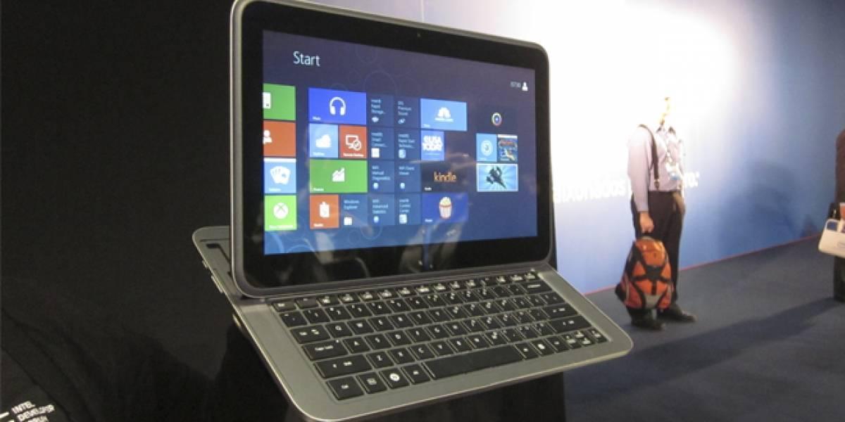 Seis nuevos diseños de portátiles que llegan junto a Windows 8