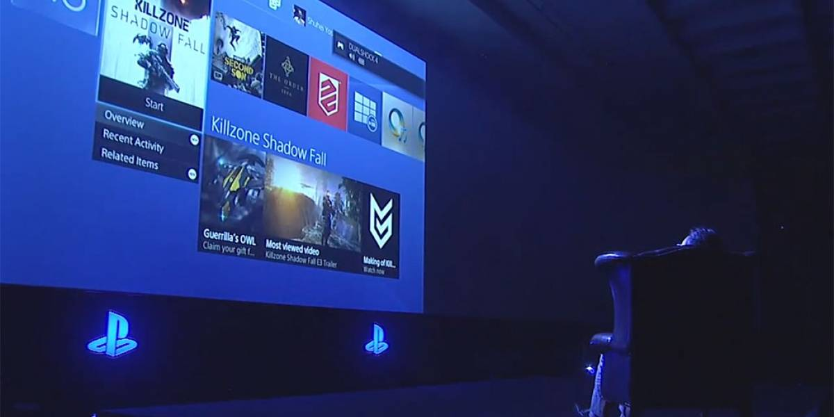 Así luce la interfaz de usuario de la PlayStation 4