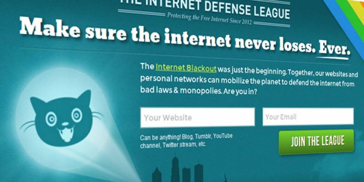 Nace la Liga de la Defensa de Internet