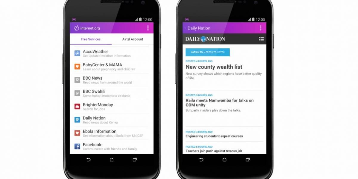 Facebook empieza a dar conexión a Internet en Kenia