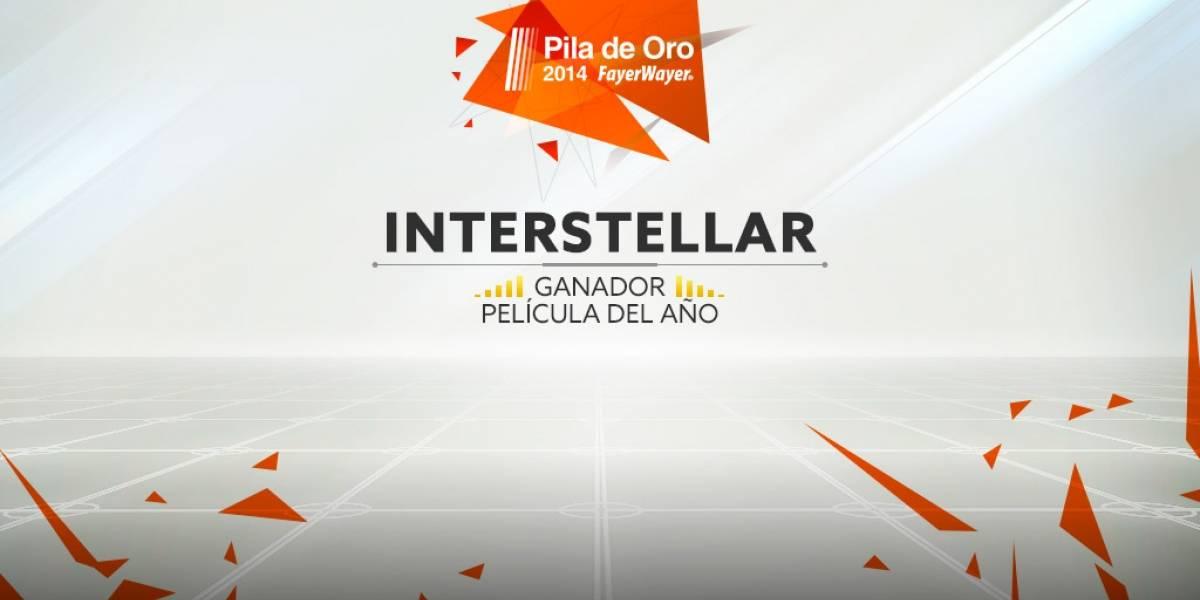 Interstellar es la película del 2014 [Pila de Oro]