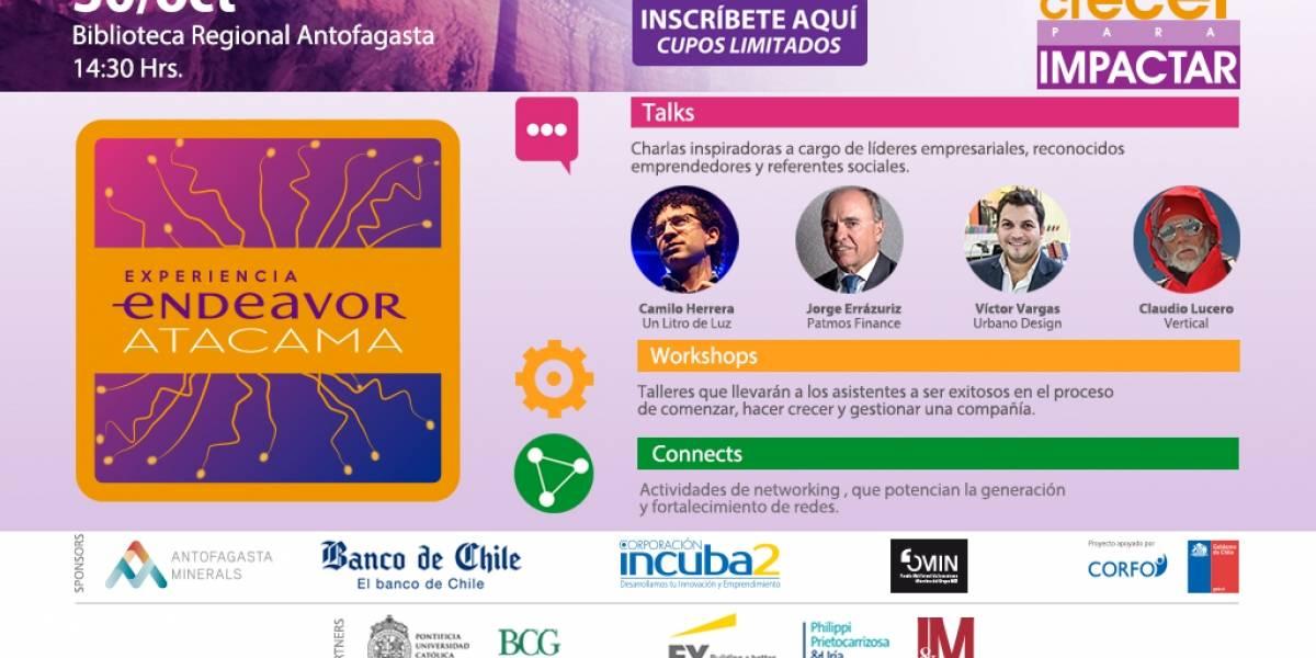 El emprendimiento de alto impacto vuelve a Antofagasta