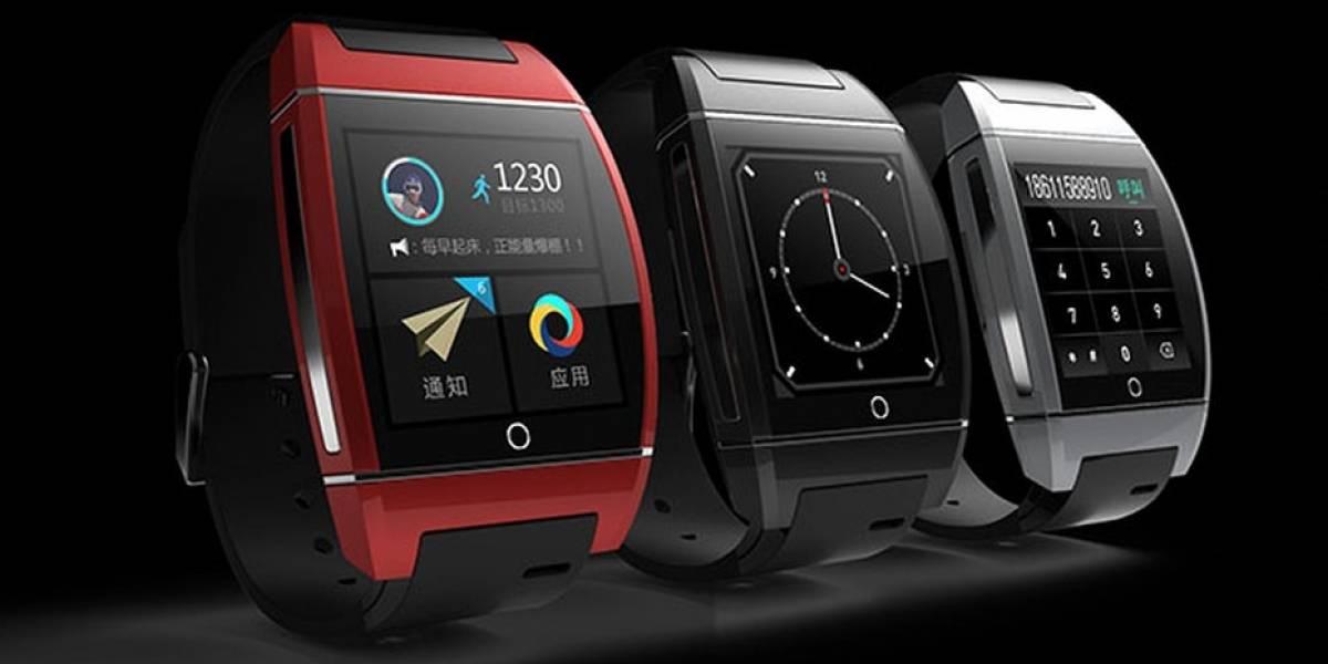 El inWatch One es un reloj inteligente con acceso a redes telefónicas