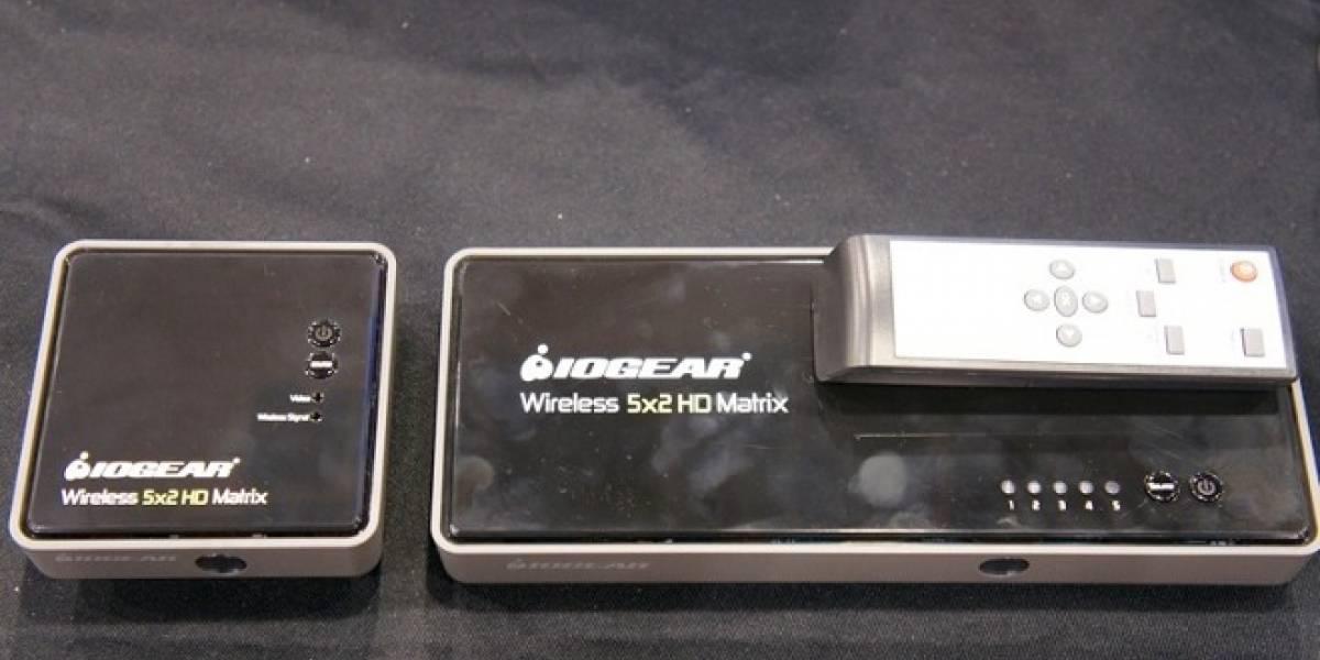 CES 2013: IOGEAR presenta matriz de video inalámbrica que transmite en 1080p sin comprimir