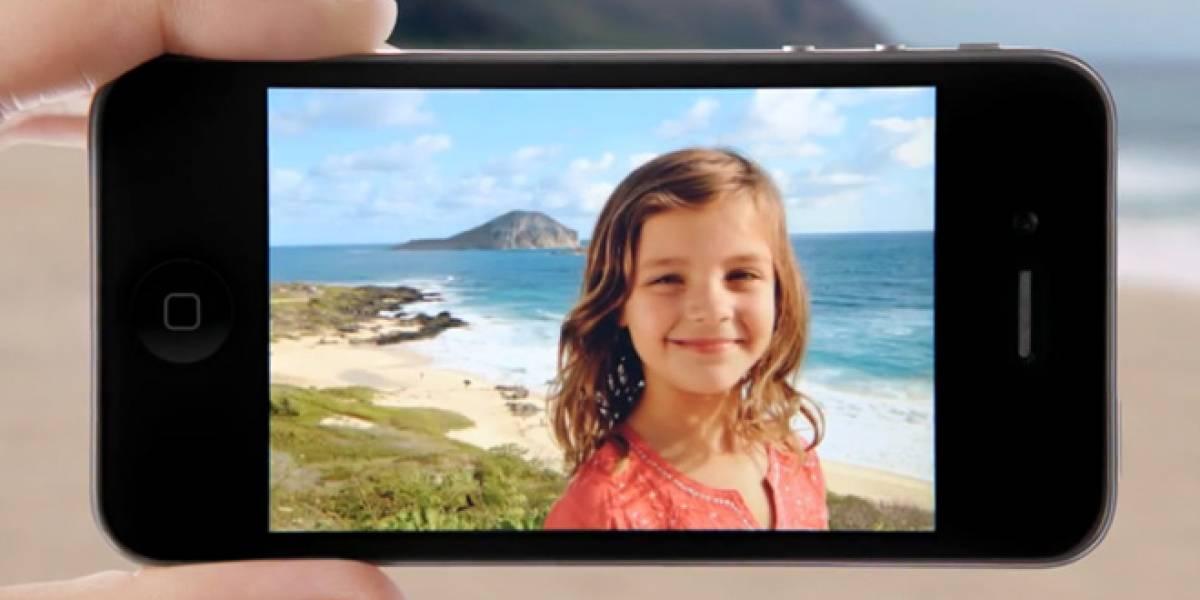 Samsung contrató a la misma niña que apareció en un anuncio del iPhone 4S