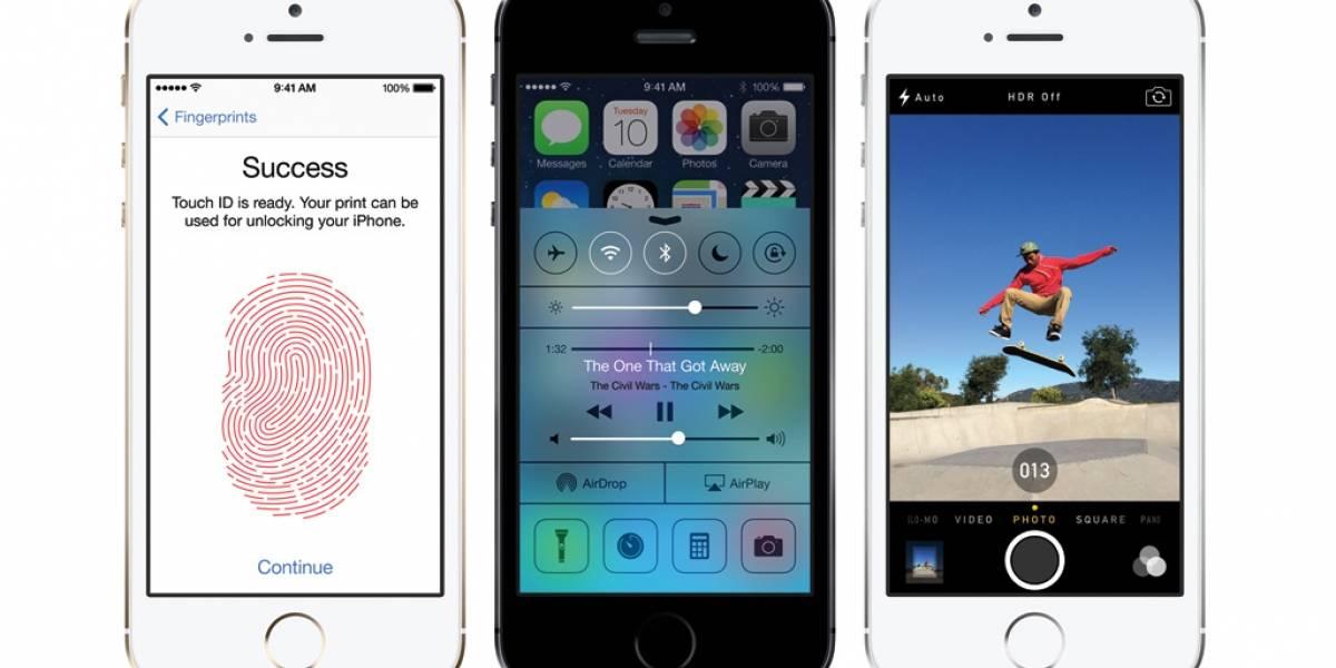 El iPhone 5S no guardará imágenes de las huellas digitales
