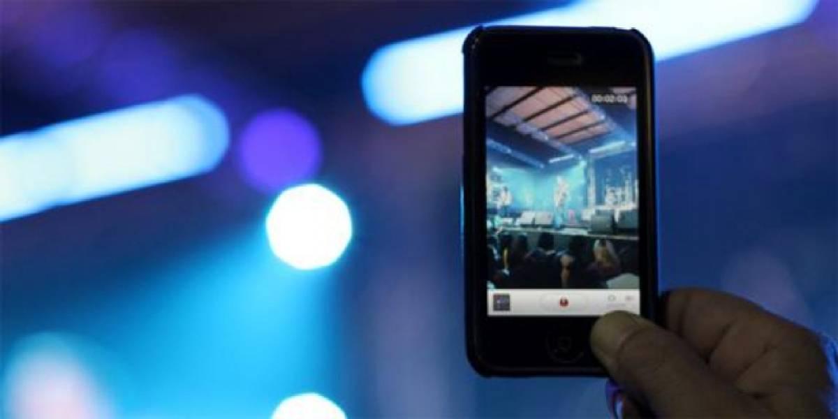 Patente de Apple impediría grabar videos de conciertos con tu teléfono