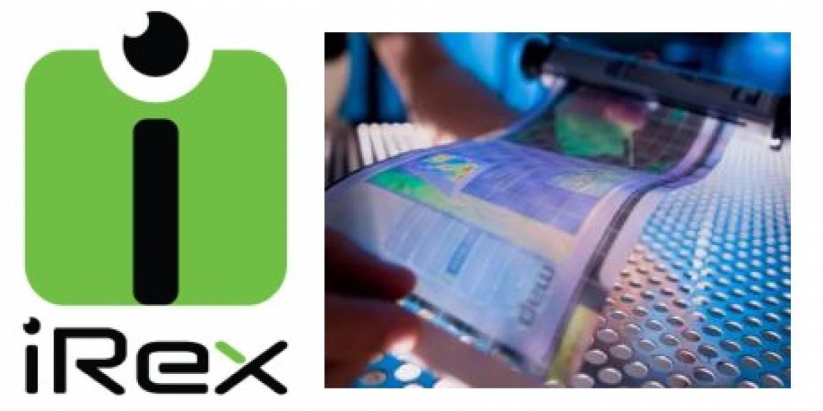 iRex quiere lectores de libros electrónicos a color, flexibles y escribibles