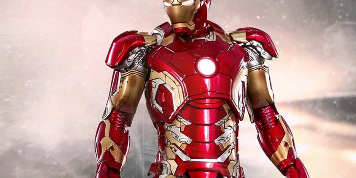 Dale un vistazo a la armadura de Iron Man en Avengers: Age of Ultron