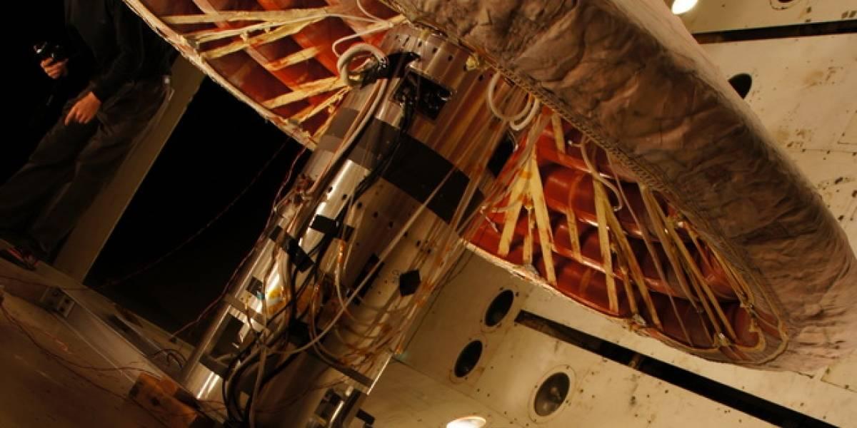 NASA prueba con éxito escudo anticalor inflable